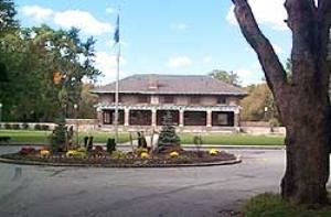 Cazenovia Park Casino, Buffalo Olmsted Parks Conservancy, Buffalo — Caz Casino