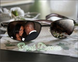 GSO Photography, Raleigh — Elegant sunglasses effect from couple first dance
