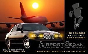 Airport Sedan & Transportation Services, Scottsdale — Airport Sedan & Transportation Service is YOUR dependable AND affordable Phoenix limousine service. 