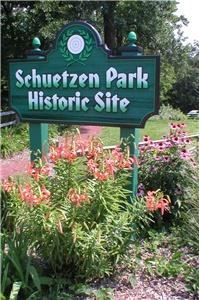 Schuetzen Park Historic Site, Davenport — The Schuetzen Park Historic Site in west Davenport, IOWA, is open May-Nov during daylight hours. The site and its facilities may be used by the public with prior arrangements. Unfortunately, alcohol is currently not permitted on site. This is a rustic venue and has limited availability of some amenities. Please view the site in person or contact us for a showing.