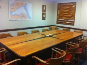 Boardroom, Royal Hamilton Yacht Club, Hamilton