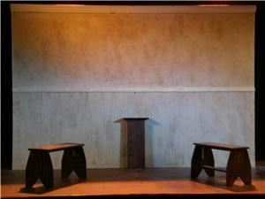 Academy Theatre, Avondale Estates — Academy Theatre Basic Stage Set up for Speeches
