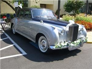 Advanced Limousine Services, Newtown — 1960 Rolls Royce Silver Cloud, mint condition both inside and out.