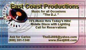 East Coast Productions, The DJ LLC, Mililani