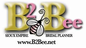 B2Bee, Sioux Falls — Your everything-in-one Wedding Planner. The Sioux Empire Bridal Planner Magazine, B2Bee.net, and the B2Bee Bridal Spectacular are the largest planning tools available covering South Dakota, NW Minnesota and SW Iowa. Let us help in planning your special day! Check out the website and register your engagement for great giveaways, pick up a Bridal Planner Magazine or scope it out online, and don't forget to visit us at the B2Bee Bridal Spectacular- the largest Bridal Trade Show in the region! Check out the website for all the details!