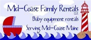 Mid-Coast Family Rentals, LLC, Belfast — We rent baby gear.  Cribs, strollers, high chairs and more.  All delivered, set up and picked up.