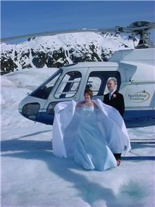 Mendenhall Glacier Top Wedding package, Juneau — A unique wedding venue, as seen in National Geographic, etc. Call 907-789-3772 for full details.