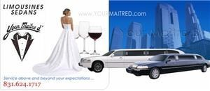 Your Maitre D Limousine, Monterey — We have been the premiere limousine service for the Monterey and Carmel coast for over 25 years. We are more like a private company with a well respected name, providing consistent service since 1983 and have learned what it takes to be successful in this business.