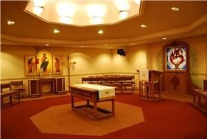Richard Allen Chapel, Asbury Theological Seminary, Wilmore — The Richard Allen chapel provides seating for 50.