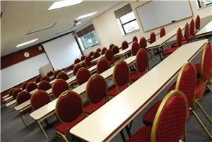 McPheeters Conference Center, Asbury Theological Seminary, Wilmore — With seating for up to 90, built-in AV equipment, and a movable divider, our dedicated conference center is perfect for your next meeting.