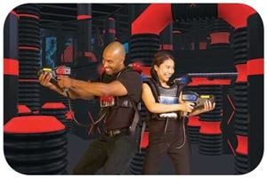 Circus World, Strike & Spare Family Fun Center and Circus World, Hendersonville — Laser Tag at Circus World
