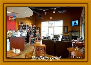 Daily Grind Of Mansfield, Mansfield — Coffee shop with conference room facilities available.