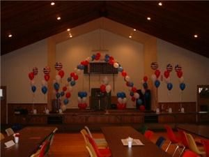 Not Just Balloons, Dingmans Ferry — Welcome Home Troops by the Hopatcong Business Association.