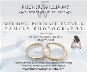 Fischer Williams Photographic Studios, Cross River — Based in Cross River, NY and Amherst, MA we serve Westchester, Putnam, Duchess, Rockland Counties in New York, as well as Western, Massachusetts and Fairfield County, Connecticut, including Darien, Wilton, Ridgefield, Westport, Stamford and Greenwich.