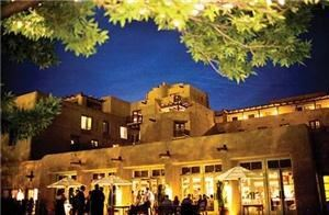 Outdoor Terrace, Inn And Spa At Loretto, Santa Fe