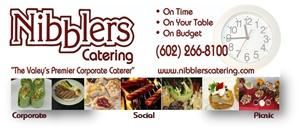 Nibblers Catering, Phoenix — Nibblers Catering has been the valley's premier corporate caterer for more than 25 years.  We take pride in making you look good with top quality food and catering services while meeting your budget. 