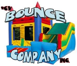 S C V Bounce Company, Santa Clarita — SCV Bounce Company provides clean, safe Moonbouncers, Jumpers & Inflatable Obstacle Courses.  Whether you are looking for a bouncer for a birthday party, family reunion, corporate picnic, fundraiser or business promotion, you can count on us for courteous, reliable service.  SCV Bounce Company is  family owned & operated. www.scvbouncecompany.com