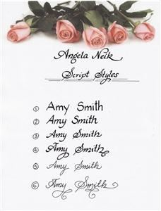 Calligraphy By Angela Dallas Tx Event Planner