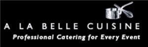 A La Belle Cuisine, Arlington — A La Belle Cuisine offers full service catering. They provide distinctive, upscale and custom designed food for any occasion including corporate events, large fund-raisers, weddings, dinner parties, anniversaries, and other special celebrations. It is a woman- owned and operated company also is a part of Women Chefs and Restaurateurs and the Leading Caterers of America. It offers highly personalized attention to detail. Each and every client deals directly with them to develop a menu. They offer the finest quality food, and present it in an artful and timely manner. They create a pleasant visual, as well as a strong culinary experience through signature table settings, luscious gourmet cuisine and stellar service.