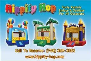 Hippity Hop, Harvey — Hippity Hop is a family owned and operated inflatable rental business.  We are fully licensed and insured to provide Bounce Houses to such events as: