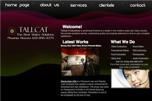 TallCat Video Productions, Phoenix — TallCat Productions is advancing forward as a leader in the creative audio and video industry. We provide excellent service, outstanding quality and projects delivered on time to your complete satisfaction.