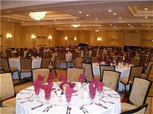 Crowne Plaza Monroe, Monroe Township — Our Crowne Plaza Ballroom can accommodate banquets up to 350 guests.