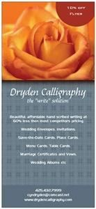 "Dryden Calligraphy-the ""write"" solution, Seattle"
