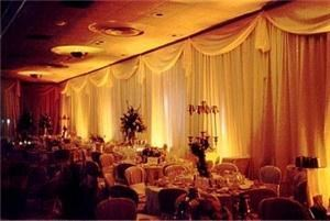 Hamilton Audio Systems, Bedford — Uplighting for wedding reception at the Columbia Club in Indianapolis, IN.
