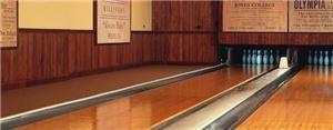 Arthur Oley Olson Bowling Alley, Hotel Pattee, Perry