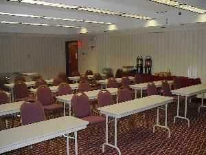 Wolverine Room, Baymont Inn & Suites Detroit/Warren, Warren — A cozy place for corporate meetings or social events!  We have two reasonably priced function spaces availbe for your needs.  We offer special corporate, group, and weekend rates.  Meeting room rental includes coffee, tea, and water service.  A/V equipment is avilable for an additonal cost.
