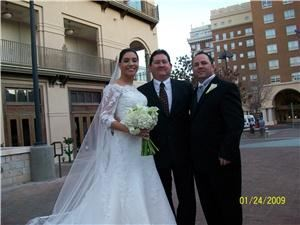 From this Moment Wedding Ministries, El Paso — Location wedding in Downtown El Paso at the Camino Real Hotel.