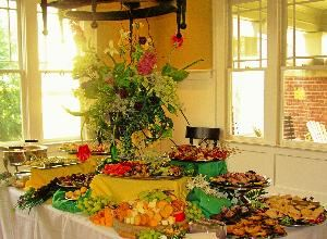 A Food Attitude, Knoxville — Wedding Reception at Private Home