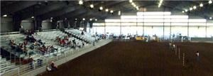 "Rodeo Arena, San Patricio County Fairgrounds & Event Center, Sinton — The Arena has over 40,000 Square Feet, Seats 1600 people and is the perfect Venue for Rodeos, Horse Shows, Livestock Shows, Auctions, Concerts, Horse Clubs, ""You Name It""."