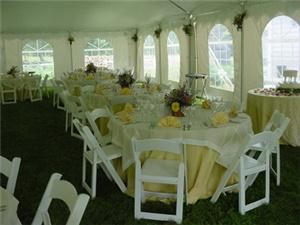 Elegant Tent with Sweeping Curved Peaks, Inn at Cranberry Farm in Vermont, Chester