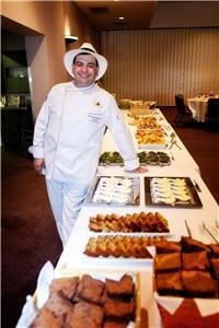Advantage Catering and Event Planning, Burbank — Chef Jeff at a wedding