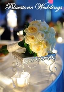 Bluestone Weddings & Events, Victorville — Bluestone Weddings - wedding bouquet display