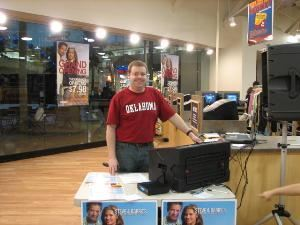Spectrum Sound DJ's Steilacoom, Steilacoom — Official DJ Company for Steve and Barry's University Sportswear Grand Openings at the Auburn SuperMall and the Olympia Westfield Capitol Mall! We gave away many prizes!!
