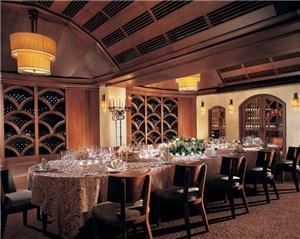 Ruth's Chris Steak House Seattle, Seattle — Our beautiful Wine Cellar! Space is much larger and magnificent than depicted.