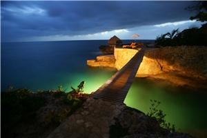 David Max Photographer / Studio Light House - Rancho Santa Fe, Rancho Santa Fe — Twilight in Negril, West Indies