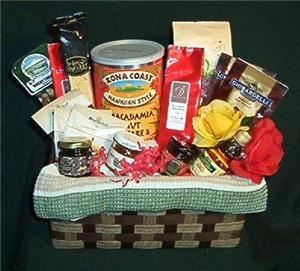 Deschutes Gift Company, Bend — Deschutes Breakfast Sampler - Breakfast theme gift basket featuring local and imported breakfast items.