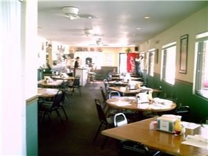 Main Dining and Banquet Room, Zorba's Restaurant & Pizzeria, Debary — Main Dining Room looking out from Banquet Room.