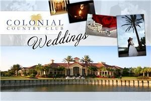 Colonial Grand Events, Colonial Country Club, Fort Myers — Congratulations!