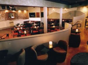 Onyx & THIN, Thin, San Diego — The back room at Onyx has a sizeable dancefloor that can be converted into banquet seating.
