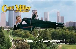 Curt Miller - Magician & Comedian, Houston — Magic plus Comedy equals Entertainment!  Houston Corporate Magician Curt Miller performs clean comedy magic shows and close-up magic for corporate and special events.  Imagine making your executive disappear, or seeing someone from your group floating in mid-air!   The Curt Miller Magic & Comedy Show is amazing, amazing CLEAN entertainment that's great for all occasions.  Clients include Texaco, American Express, and NASA.  Show descriptions, pictures, and video are available at www.curtmiller.com