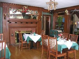 The Oxford House Inn, The Oxford House Inn, Fryeburg — Large dining room with seating capacity for 30.