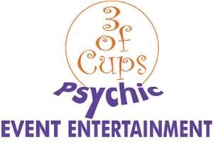 3 of Cups Psychic Event Entertainment Inc., Toronto — 3 of Cups Psychic Event Entertainment Logo.