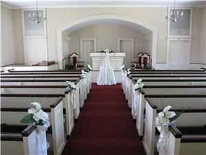 Cold Spring Chapel, Plymouth — Interior of Cold Spring Chapel