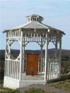 Gazebo, Douglas Lake View Stables, Sevierville