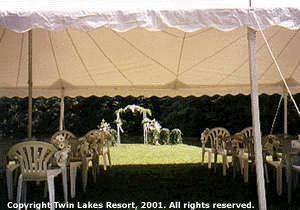 Pavilion, Twin Lakes Resort, Hurley