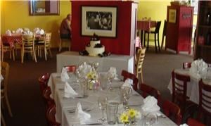 Pinocchios Italian Restaurant, Longmont — Set up for a wedding